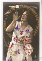 FAN 013  OLD POSTCARD , FEMALE FANTASY , ANGELS , ELFQUEST ,GNOMES - Femmes