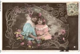 FAN 014  OLD POSTCARD , FEMALE FANTASY , ANGELS , ELFQUEST ,GNOMES - Femmes