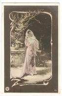 FAN 015  OLD POSTCARD , FEMALE FANTASY , ANGELS , ELFQUEST ,GNOMES - Femmes