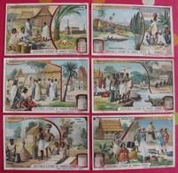 6 Chromo Liebig. Madagascar, Le Pays Des Hovas. 1908. S 937. Chromos. édition Française - Liebig