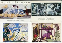 LOT DE 10 CARTES POSTALES CPM SUR PABLO PICASSO - Postkaarten