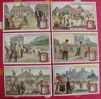 6 Chromo Liebig. Entretien Des Voies Publiques. 1909. S 967. Chromos. édition Française - Liebig
