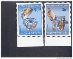 CEPT Lebensspender Wasser Ungarn 4674 - 4675  MNH ** Postfrisch - 2001