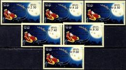 ISRAEL 2019 - Christmas - Noël - Natale - Weihnachten - Navidad - Set Of 6 Jerusalem ATM # 101 Labels - MNH - Christmas