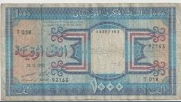 MAURITANIA P.  7e 1000 O 1992 F - Mauritanië