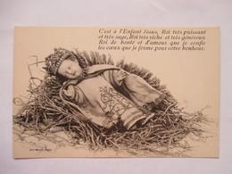 ENFANT-JESUS   COURONNE....              TTB - Jésus