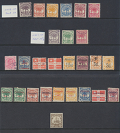 Samoa  1887 - 1900  Poste Locale Lot De Timbres  *  MH Et Oblit - Samoa