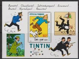 FR3230 - FRANCE - 2000 - BLOCKS - COMICS - BLOCS - TINTIN – Y&T # 28 NEUF ** MNH - Cote 3,50 € - Ongebruikt