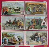 6 Chromo Liebig. Voyage De Sven Hedin Au Thibet. 1908. S 947. Chromos. édition Française - Liebig
