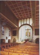 AK-div-33- 0004   - Bous Saar  - Kath Pfarrkirche St. Peter - Innenansicht - Als Weihnachts- Neujahrskarte - Saarbruecken