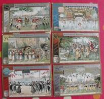 6 Chromo Liebig. Sport, Grand Ballet De Manzotti, Musique De Marenco. 1898. S 574. Chromos. édition Française - Liebig