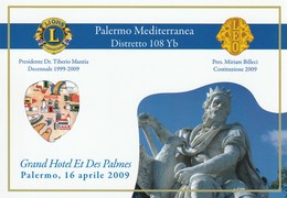 Tematica - Eventi - Palermo - 1999-2009 Dieci Anni Costituzione Lions Club Palermo - - Manifestazioni