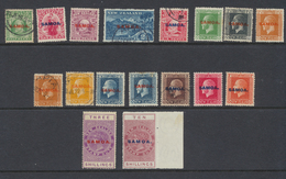 Samoa  1914 - 1918 Administration Néo-zélandaise  Lot De Timbres  *  MH Et Oblit - Samoa