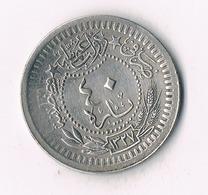 40 PARA  1327 AH TURKIJE /9116/ - Turquie