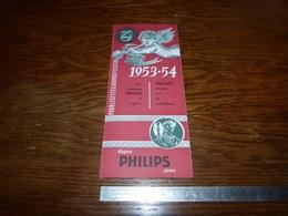 CB15F3 Catalogue 1953-54 Philips Pour La Noël Kerstmis - Musique & Instruments