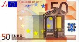 BELGIQUE - 50.00 € 2002 - Duisenberg - Z760643721709 -T002B1 -circulé Voir Scan - 50 Euro