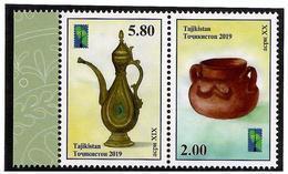 Tajikistan.2019 Jugs(PCC). 2v:2.00,5.80 - Tajikistan