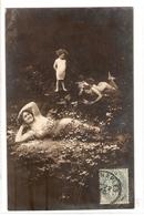 FAN 018  OLD POSTCARD , FEMALE FANTASY , ANGELS , ELFQUEST ,GNOMES - Femmes