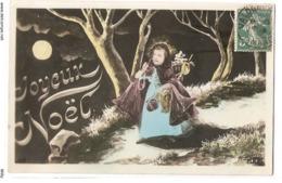 FAN 019  OLD POSTCARD , FEMALE FANTASY , ANGELS , ELFQUEST ,GNOMES - Femmes