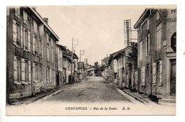 10 - CHAVANGES . RUE DE LA POSTE - Réf. N°23657 - - Other Municipalities