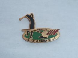 Pin's GOLF DE LA GRANDE VALLEE, GONESSE - Golf