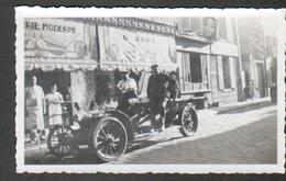 45, Montargis, Photo 11 X 7 Cm, Prise Rue Du Loing Devant Le Magasin G. Ruet, Automobile Ancienne En Joli Plan - Coches