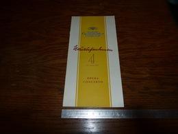 CB15F3 Catalogue Nouveautés Deutsche Grammophon 1953 Opera Concerto - Musique & Instruments