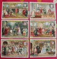 6 Chromo Liebig. Les Noces De Figaro, Opéra De Mozart. 1905. S 828. Chromos. édition Française - Liebig