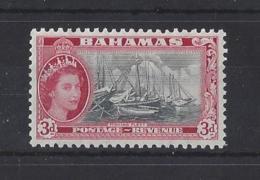 "BAHAMAS....QUEEN ELIZABETH II.(1952-NOW).."" 1954 "". ... 3d.........SG205.........MH... - Bahamas (...-1973)"