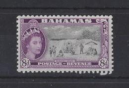 "BAHAMAS......QUEEN ELIZABETH II.(1952-NOW).."" 1954 "". ... 8d.........SG209.........MH... - Bahamas (...-1973)"