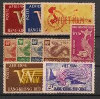 Vietnam (Empire) - 1952-55 - Poste Aérienne N°Yv. 1 à 10 - Complet - 10v - Neuf Luxe ** / MNH / Postfrisch - Viêt-Nam