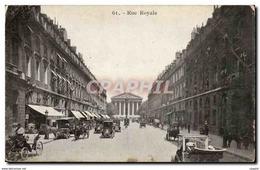 Paris 8 La Madeleine Et La Rue Royale Automobile - CPA - Distretto: 08