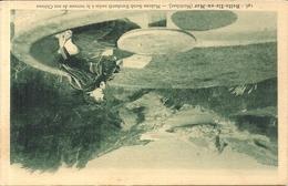 SARAH BERNARD ASSISE TERRASSE DE SON CHATEAU - Belle Ile En Mer