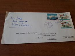 Old Letter - Liban, Lebanon - Lebanon