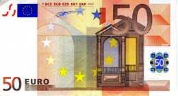 BELGIQUE - 50.00 € 2002 - Duisenberg - Z32101388847 -T004A3 -circulé Voir Scan - EURO