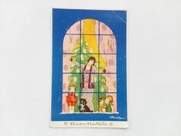 1933 - Buon Natale - Illustratore Busi - Natale