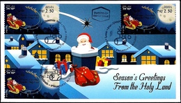 ISRAEL 2019 - Christmas - Noël - Natale - Weihnachten - Navidad - ATM Labels # 001; # 101 & # 987 - FDC - Christmas