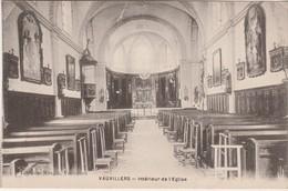 CPA Non Circulé / Intérieur De L'église / 70 Vauvillers - Autres Communes