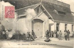 LE PALAIS . EXERCICE DU CANON PORTE AMARRES - Belle Ile En Mer