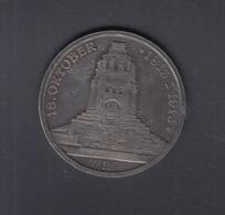Dt. Reich 3 Mark 1913 Völkerschlacht-Denkmal - 2, 3 & 5 Mark Silber