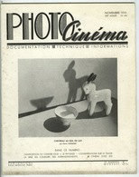 PHOTO-CINEMA Magazine Article Et Photos Pierre AURADON 1941 - Photos