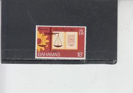 BAHAMAS  1974 - Yvert  345** - Università - Bahamas (1973-...)