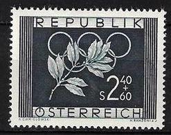 Österreich Autriche Austria 1952: Olympiade Helsinki  Michel-# 969  ** MNH (Michel 25.00 Euro) - Sommer 1952: Helsinki