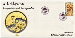 Mauritius Stamp On FDC - Explorers