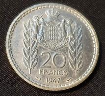 Monaco 20 Francs 1947 UNC - Mónaco