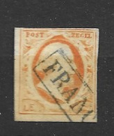 1852 USED Nederland NVPH 3 - Periode 1852-1890 (Willem III)