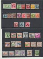 Samoa  1920 - 1944 Mandat Néo-zélandais  Lot De Timbres  ***  MNH *  MLH Et Oblit - Samoa