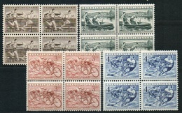 1952 Czechoslovakia MNH - Mi 749-752 Yv 657-660 ** MNH - Czechoslovakia