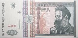 Roumanie - 500 Lei - 1992 - PICK 101a - NEUF - Rumania