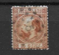 1867 USED Nederland NVPH 9 - Periode 1852-1890 (Willem III)